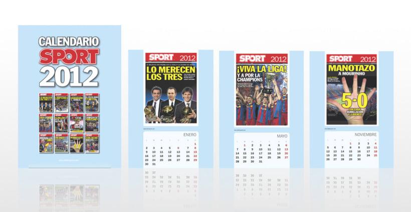 Calendario SPORT 2012 1
