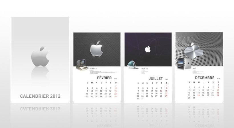 Calendario Exaprint FR 2012 2