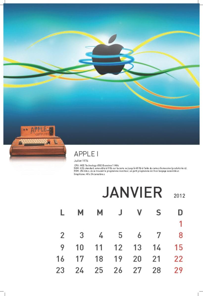 Calendario Exaprint FR 2012 3