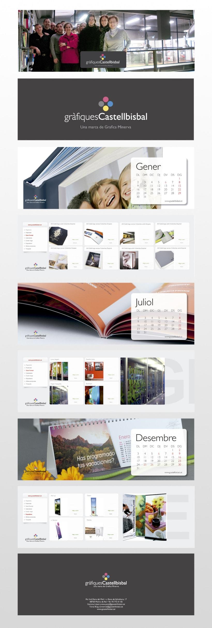 Calendario Catálogo 3