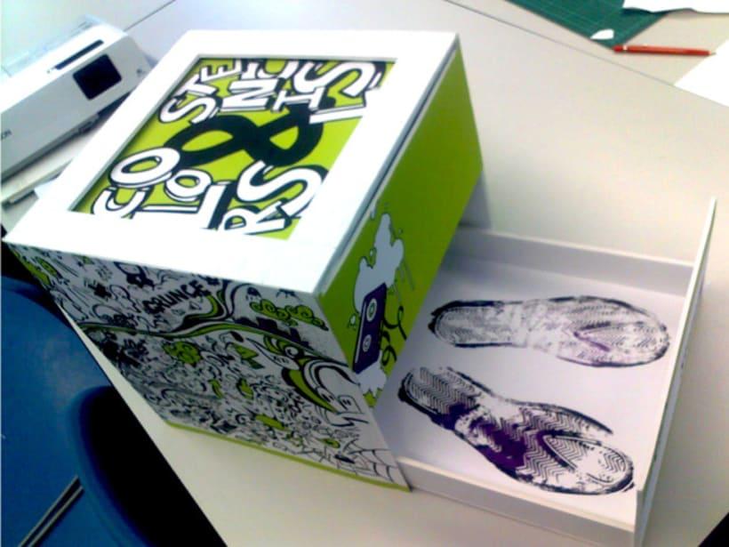 Packagin y diseño Stencil (Calzado personalizable) 2