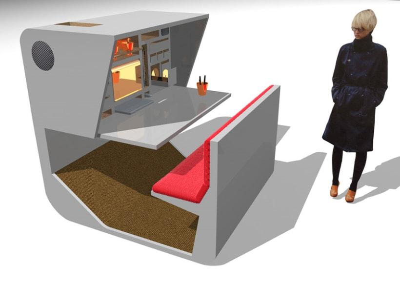 Isecret dise o mobiliario domestika for Mobiliario de diseno