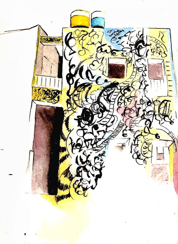 Dibujos por La Habana 25