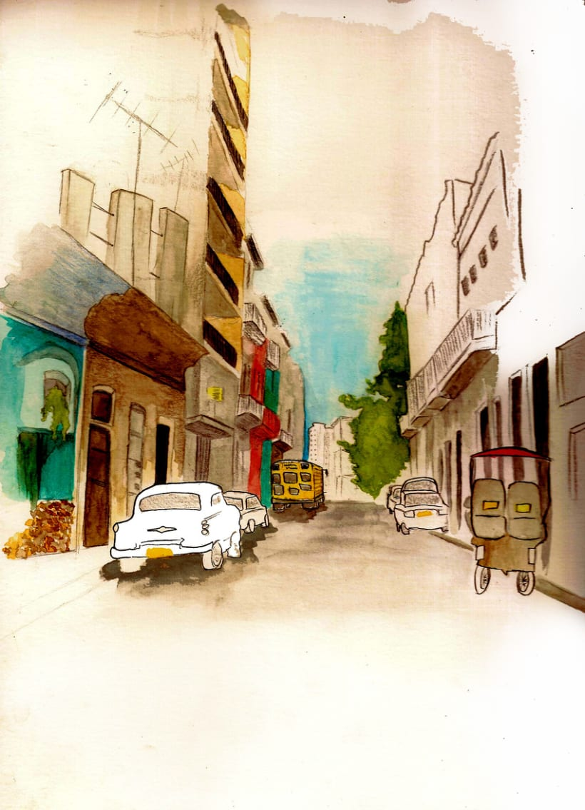 Dibujos por La Habana 18