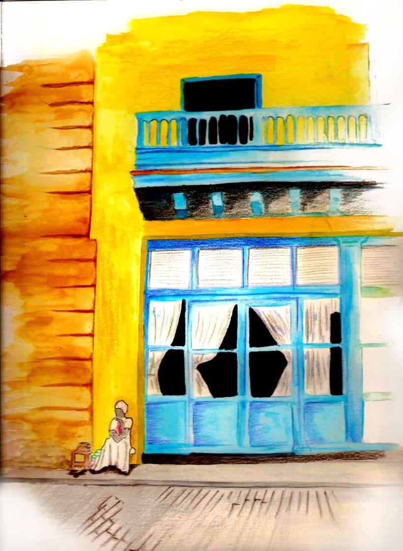 Dibujos por La Habana 17