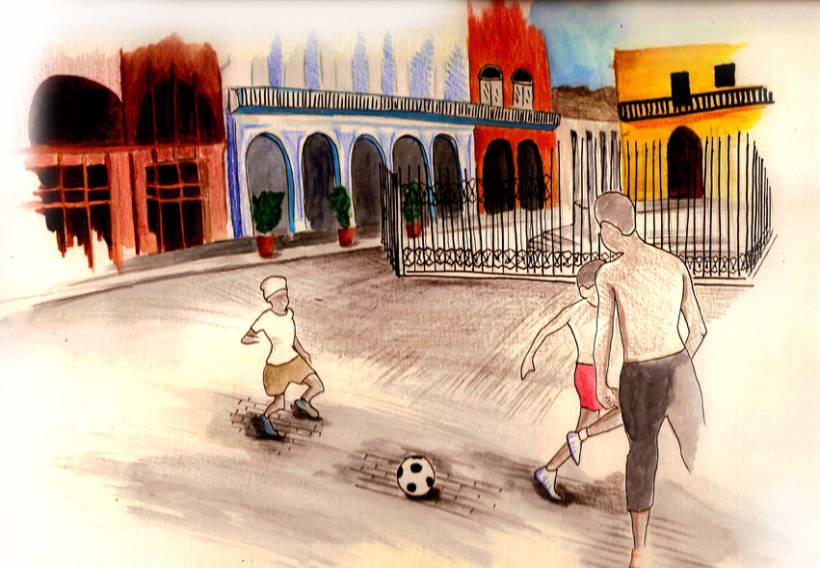 Dibujos por La Habana 5