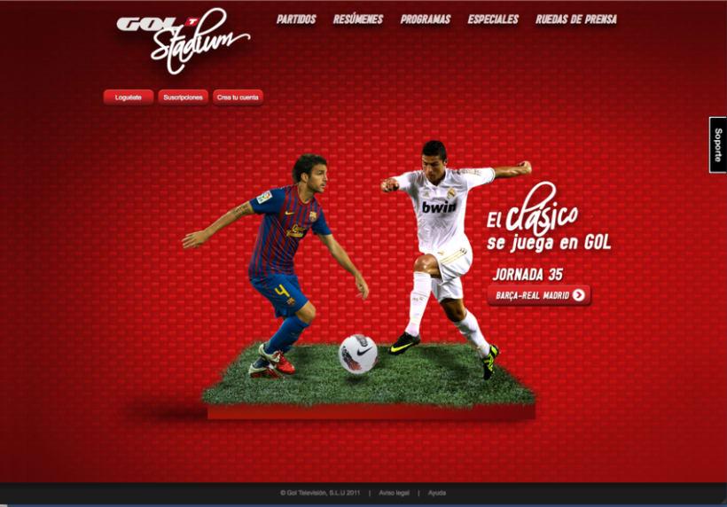 Gol Stadium Clásico 3