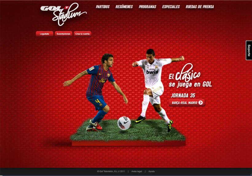 Gol Stadium Clásico 1