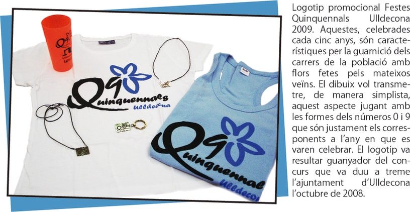 Logotip Quinquennals 2009 2