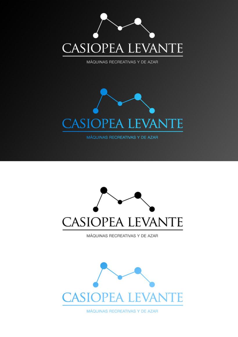 "Logotipo para ""Casiopea Levante"" 1"
