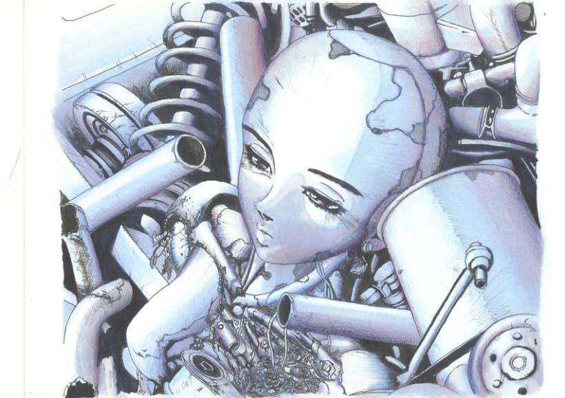 Manga Alita Ángel de Combate 1
