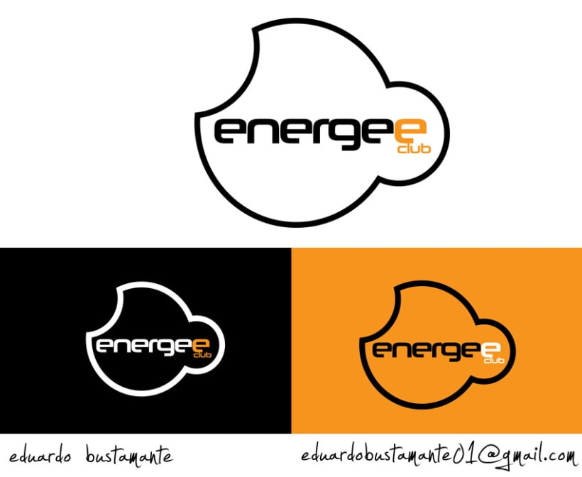 Logo Design energee club London 1