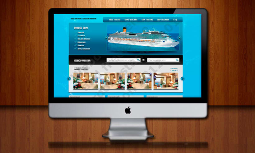 Cruizr ships corporate website 1