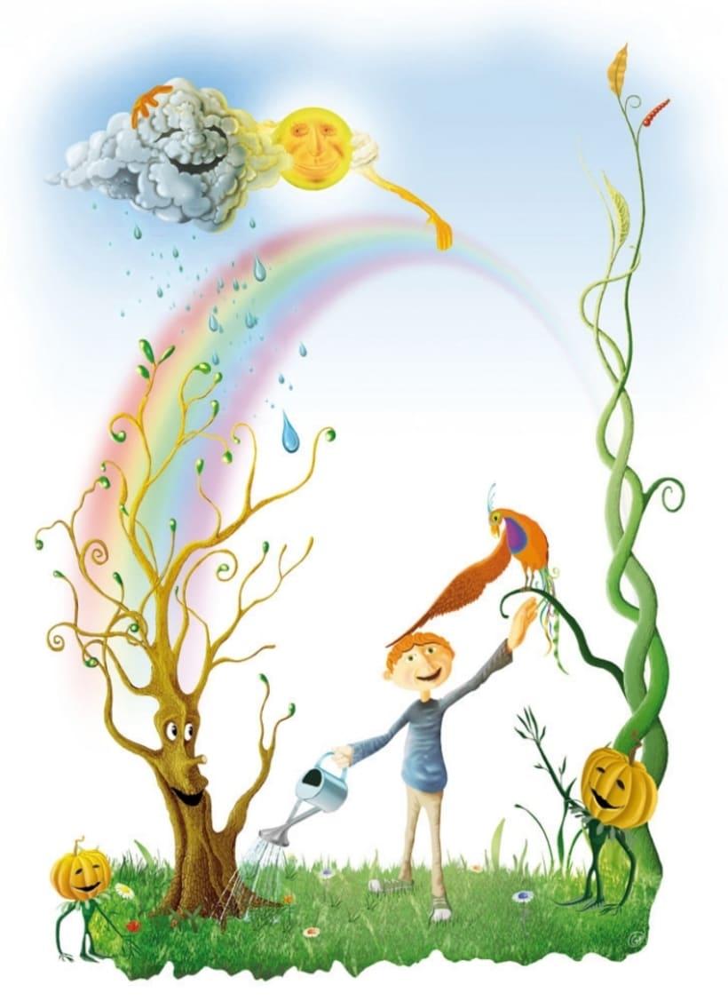 Ilustraciones infantiles domestika - Ilustraciones infantiles antiguas ...