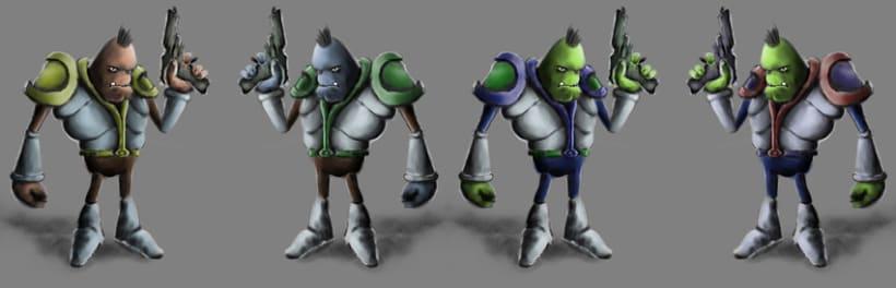 Conept Art para personaje 3D 3