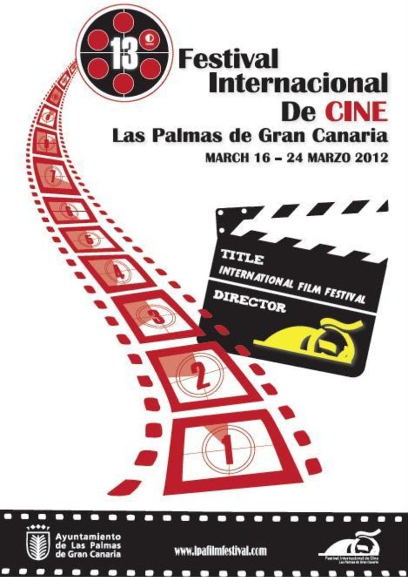 Cartel 13 Festival Internacional de Cine Las Palmas 1