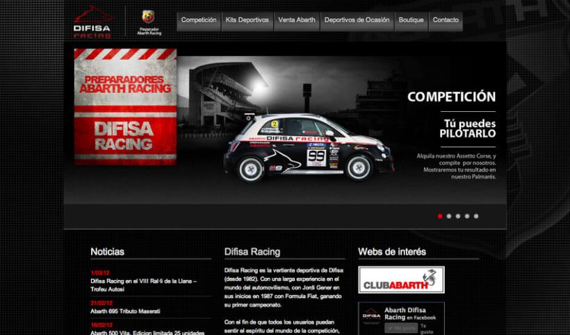 Difisa Racing Website 3