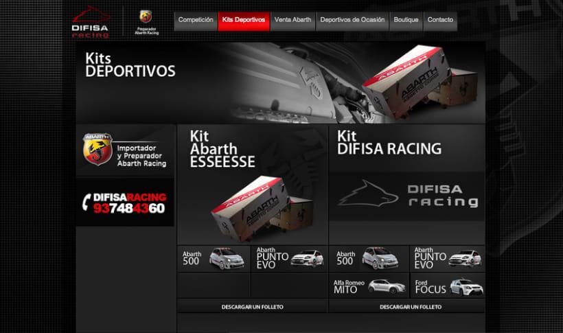 Difisa Racing Website 2