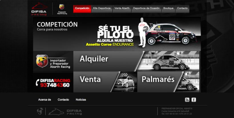 Difisa Racing Website 1