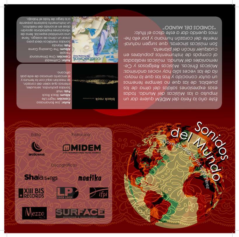 Digipack Sonidos del Mundo 5