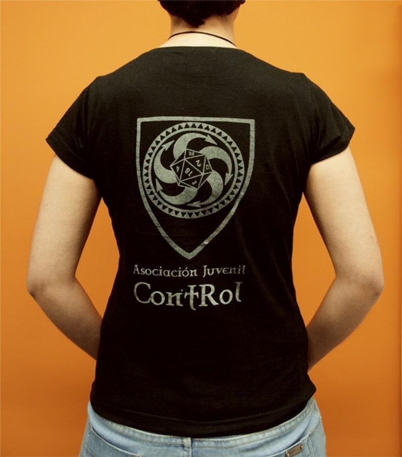 Camiseta Asociación Juvenil ContRol 2