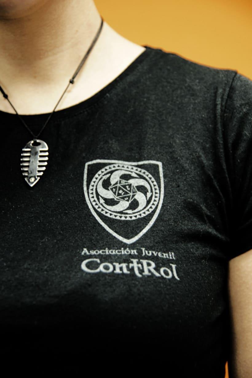 Camiseta Asociación Juvenil ContRol 1