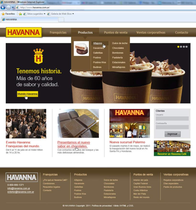 Sitio web Havanna 3