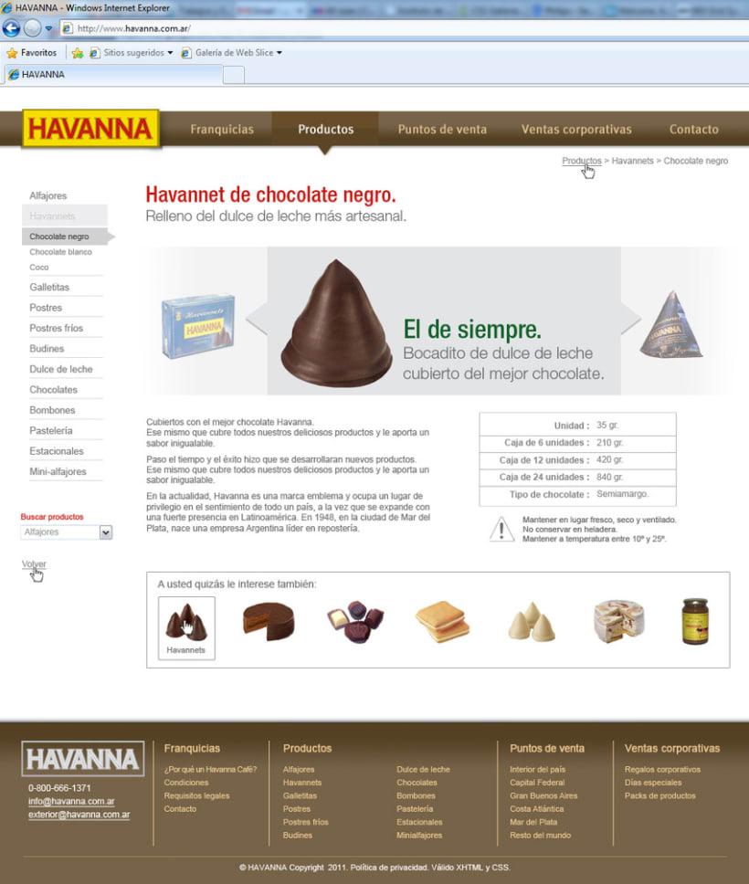 Sitio web Havanna 6