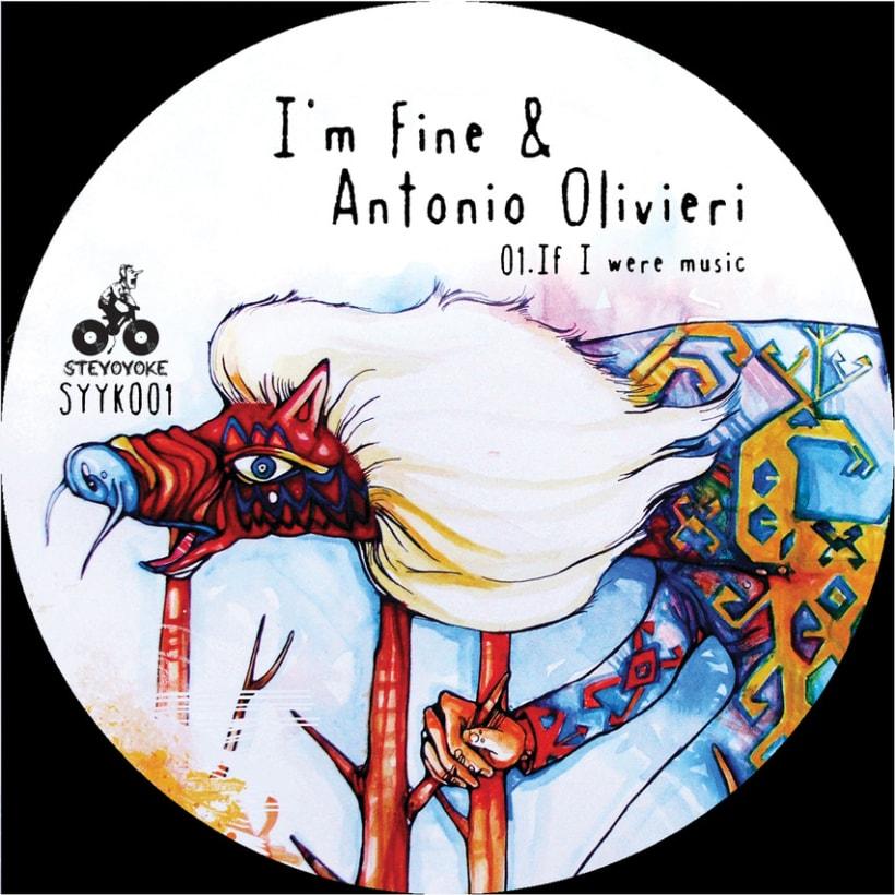 I'm Fine & Antonio Olivieri Albumartwork 5