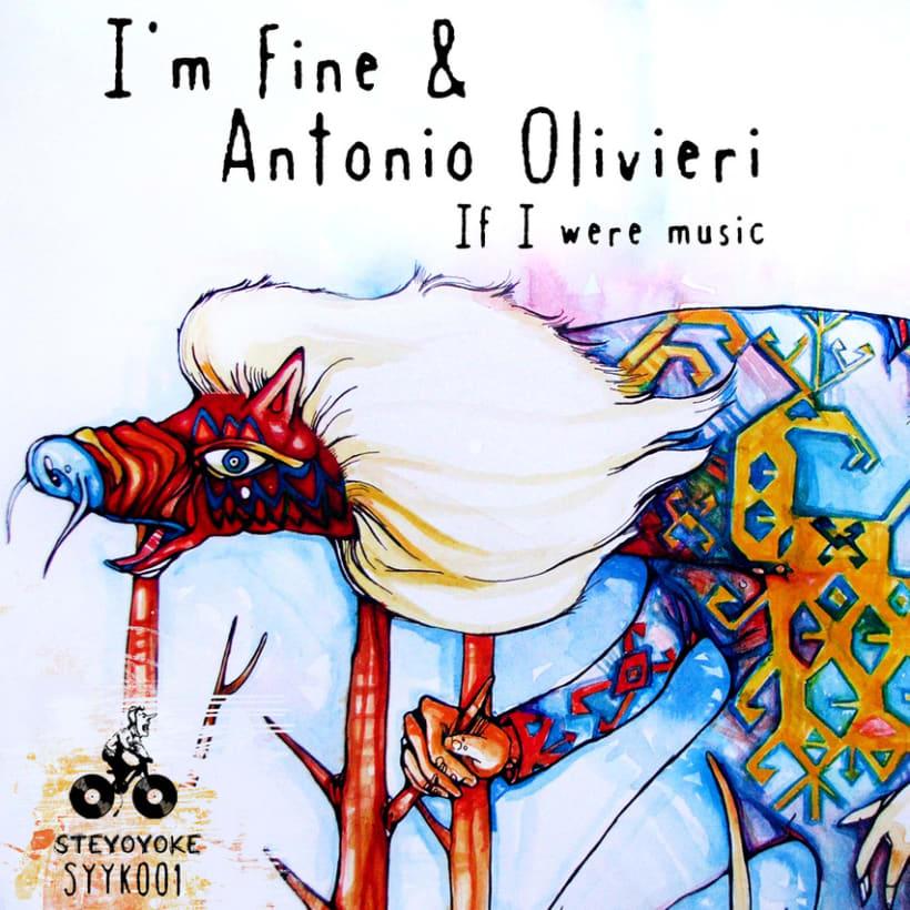 I'm Fine & Antonio Olivieri Albumartwork 2