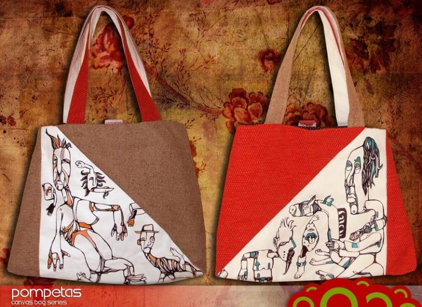Pompetas Canvas Bags 9