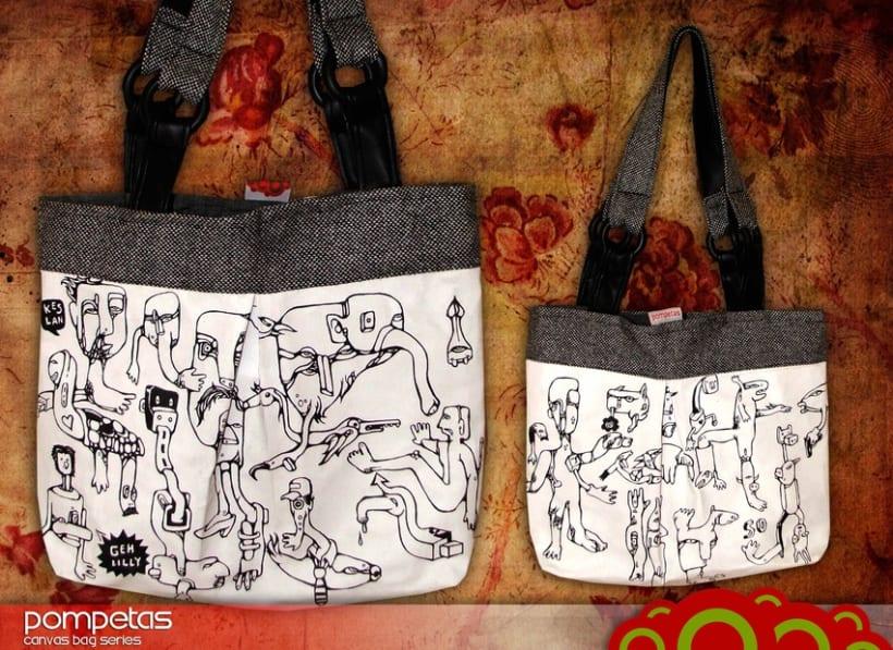 Pompetas Canvas Bags 3