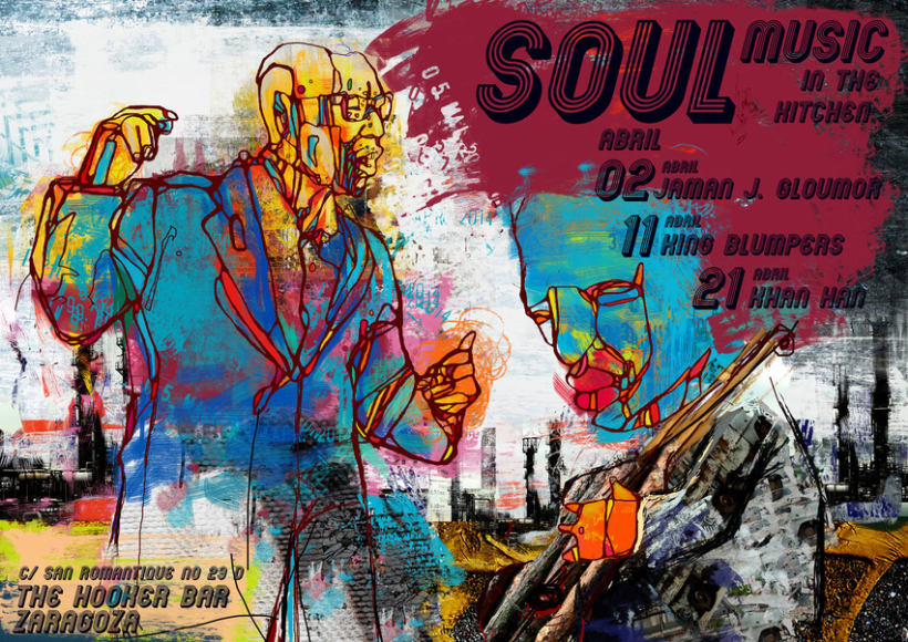 Posters for Jazz, Soul and blues Music 1
