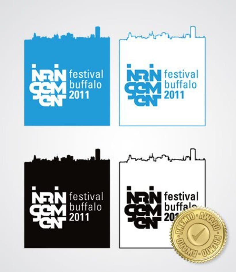 Buffalo Infringement Festival 2011 - Identidad Corporativa 0
