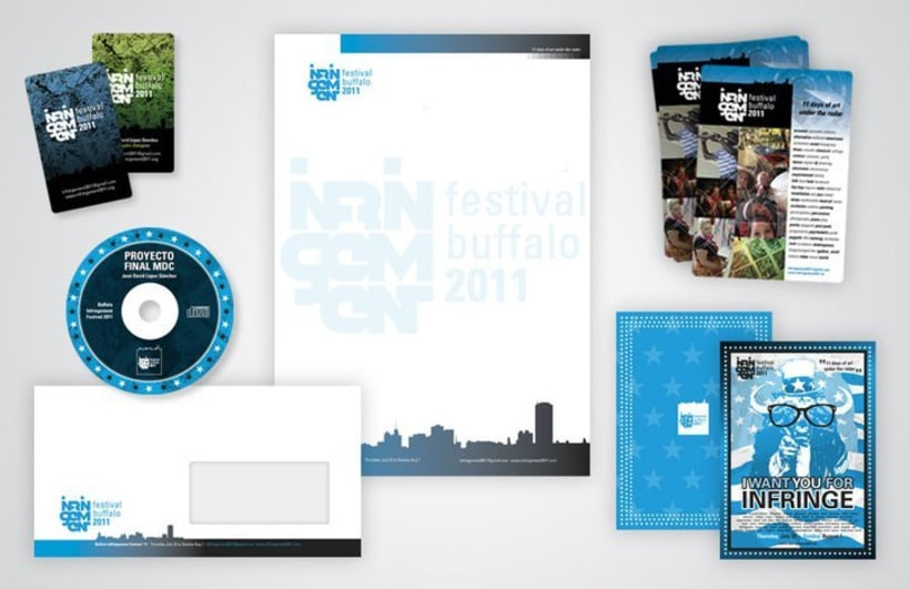 Buffalo Infringement Festival 2011 - Identidad Corporativa 1
