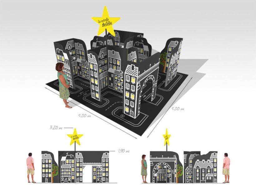 Diseño acciones de calle navidad, Ayto. Alcobendas 1