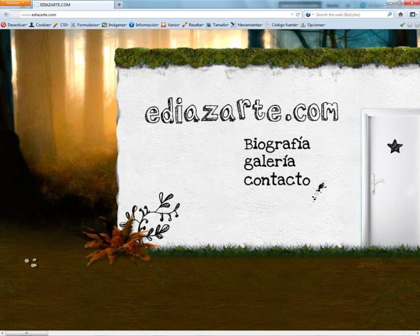 Diseño web ediazarte.com 1