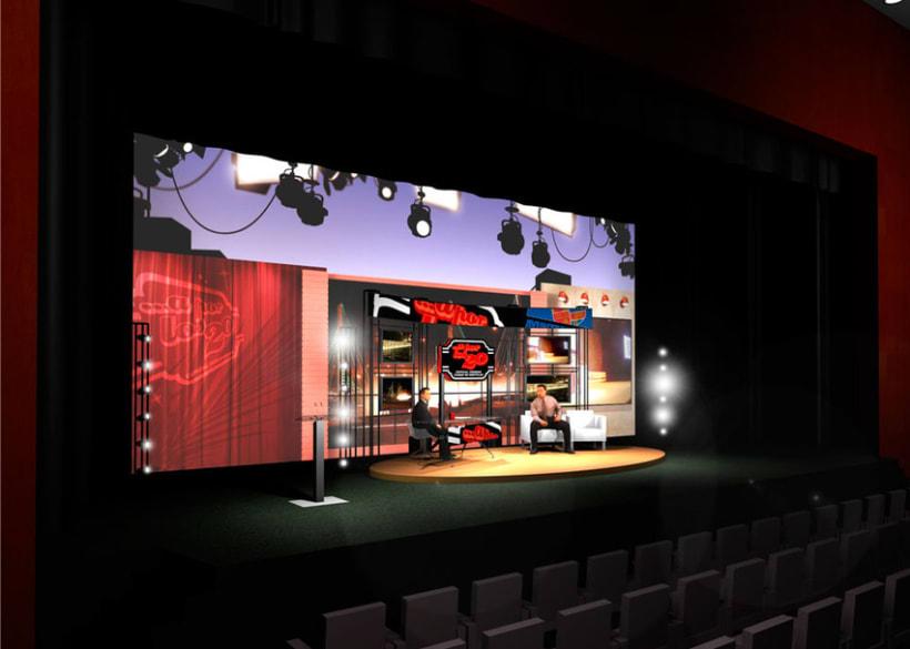 Diseño escenografía Premios Ciudad de Móstoles 1