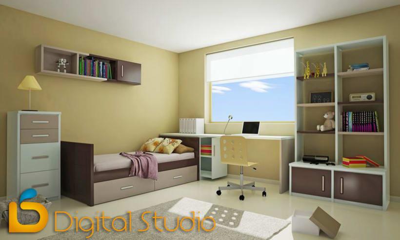 Interiores 3d - Dormitorios 6
