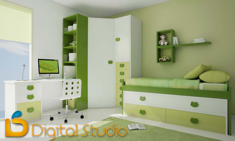 Interiores 3d - Dormitorios 5