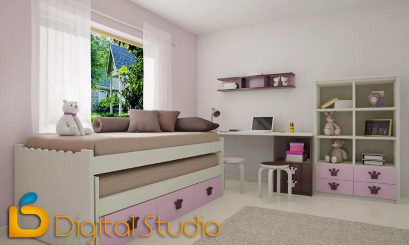 Interiores 3d - Dormitorios 4