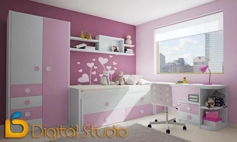 Interiores 3d - Dormitorios 7