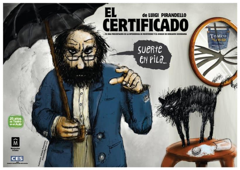 EL CERTIFICADO (LA PATENTE DE PIRANDELLO) 1