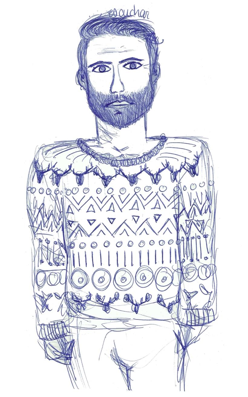 Dibujos con boli Bic 2