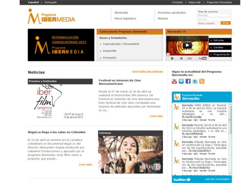 Web Programa Ibermedia 1