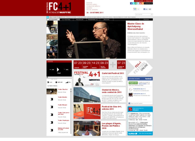 Web Festival de Cine 4+1 1