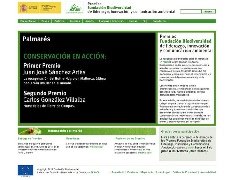 Premios Fundación Biodiversidad 2010 1