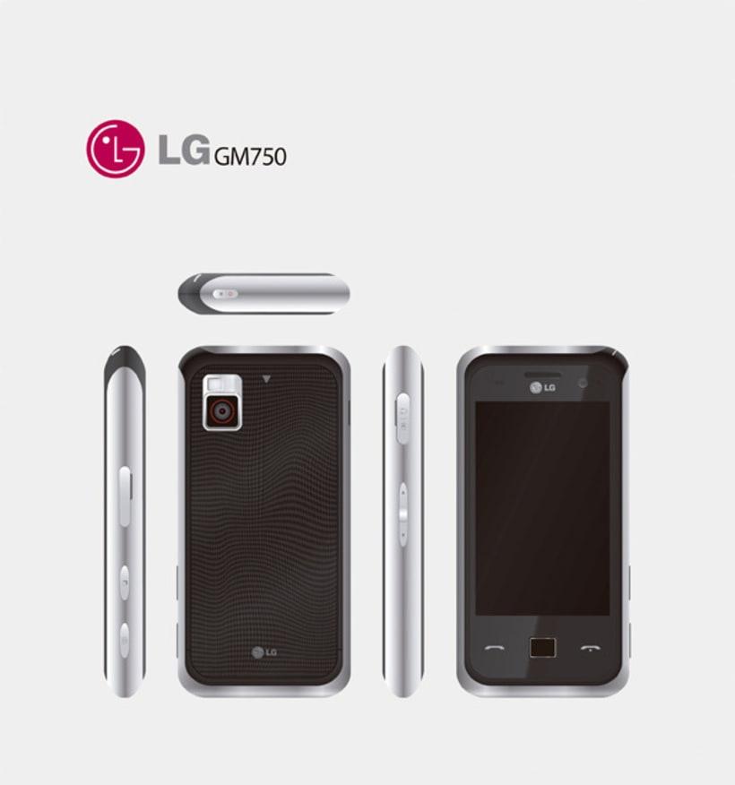 LG GM750 3