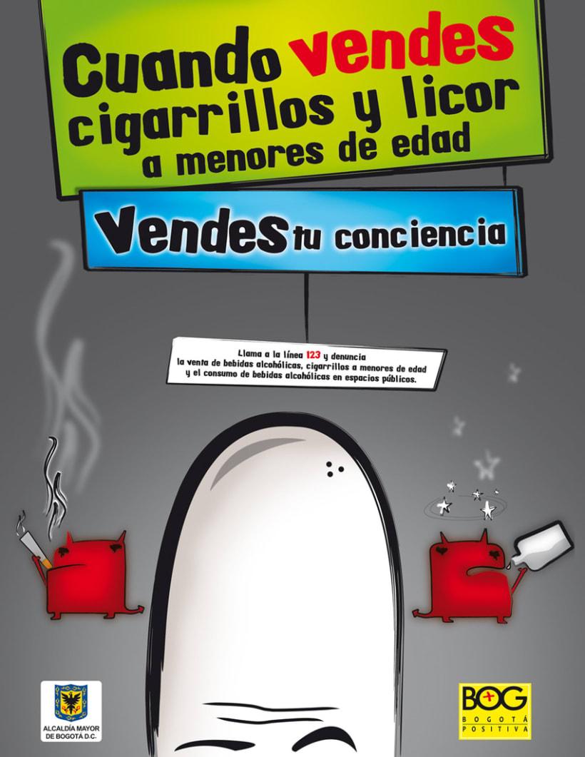Alcaldía Mayor de Bogotá, crear conciencia 2