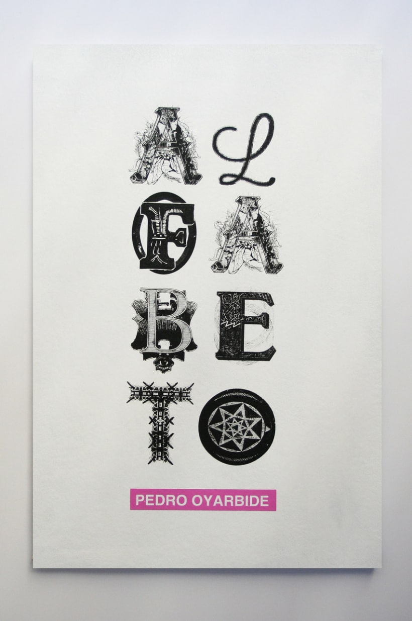 Alfabeto domestika - Letras para serigrafia ...